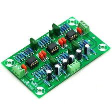 Stereo MC Phono RIAA Preamplifier Module Board, Preamp, OPA2134