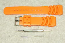 Rubber Divers High Quality Watch Strap Fits Citizen/Seiko 20mm 22mm Bar Tool