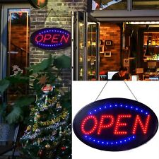 Led Neon Light Open Sign with On/Off Super Bright For Business Bar Cafe Hotel