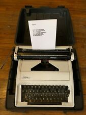 """New listing Manuel Typewriter Carina """"Vermont Country Store"""" Black Carry Case"""