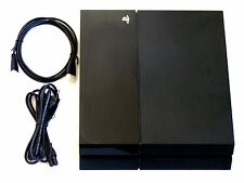 PLAYSTATION 4 KONSOLE 500GB + KABEL PS4 schwarz 500 GB Firmware 4.05 4.01 3.15