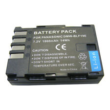 DMW-BLF19E Camera Battery 1860mAh for Panasoni Lumix DMC-DH3 GH4 BLFGK BLF19E