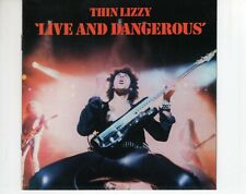 CD THIN LIZZYlive and dangerous1996 EX  (A4254)