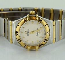 Omega Constellation White Dial Two-Tone 18k/Stainless Steel Lady's Watch