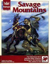 PENDRAGON SAVAGE MOUNTAINS EXC! 2702 King Arthur Chaosium Inc. Advcenture Module