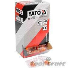 Yato Profesional Ear tapones protección 34db Pack De 200 Pares (yt-74510)