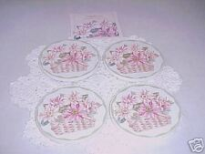 Longaberger Sunflower Coasters Set of 4