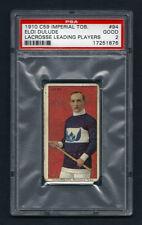 PSA 2 1910 C59 LaCROSSE CARD #94  ELOI DULUDE