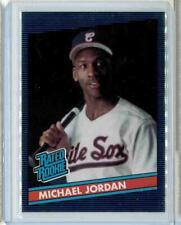 Michael Jordan Rated Rookie Baseball Card Promo (Plus bonus MJ card)