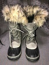 WOMENS/SOREL WINTER WATERPROOF LACE UP RUBBER/LEATHER SIZE 6M