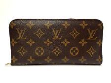 Authentic LOUIS VUITTON Long Wallet Monogram Insolite M66568 Browns Purple