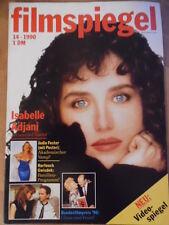FILMSPIEGEL 14/1990 Isabelle Adjani Jodie Foster Romy Schneider Vincent Price