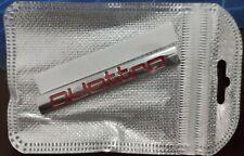 Fits Audi Quattro Front Grille Badge Car External Accessory Logo Emblem Chrome