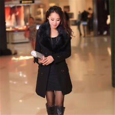 2018 hot new women's ladies winter warm long coat set Parker wool coat popular