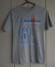 Ironman World Championship Kokua Crew Gray Tee Shirt S Chest 36� Kona Hi 2007