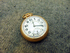 H3C ILLINOIS BUNN SPECIAL 16s 23j 10k GOLD FILLED Pocket Watch Circa 1924