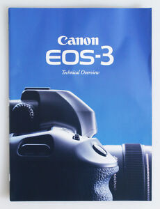 CANON EOS 3 TECHNICAL OVERVIEW BROCHURE