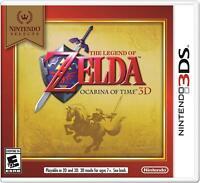The Legend Of Zelda: Ocarina Of Time 3D [Nintendo 3DS, Link Action Adventure]