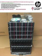 HP C7000 16x BL460c Gen8 v2 55TB 10Gbit iSCSI 256Core 1TB RAM Blade SAN Solution