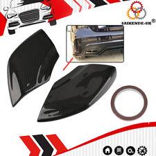 2 Carbon Flaps Splitter Heck Stoßstange Spoiler Für Mercedes Benz W176 A45 13-18
