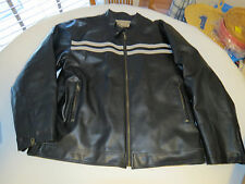 Mens XL Surplus Apparel Military Academy Parts jacket black grey bomber EUC