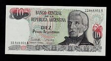 ARGENTINA 10  PESOS ARGENTINOS  ( 1983-85 ) A  PICK # 313  UNC BANKNOTE.