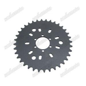 6 Hole 36T Rear Sprocket For 49cc 50cc 60cc 80cc Motorised Bicycle Push Bike