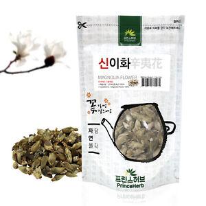 Medicinal Herb, 100% Natural Magnolia Flower Bulk Herb 신이화 4oz / 113g