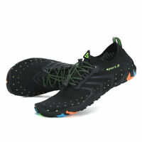 SAGUARO Men Water Skin Shoes Adjustable Aqua Surf Socks Beach Sport Yoga 4.5-12