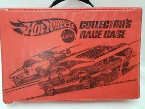 Rare Hot Wheels Vintage Collectors Race Case - 1974 T18