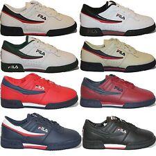 Kids Boys Girls Fila Original Fitness Classic Casual Athletic Retro Shoes NIB