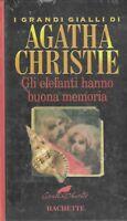 Gli elefanti hanno buona memoria - i grandi gialli di agatha christie - hachette