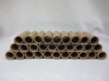 Cardboard Tubes Lot of 30 Very Hard Great for Crafting 96.4mm Long