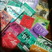 Backstage Pass collection 1997~2001 Buffett, Moody Blues... 22 in Total