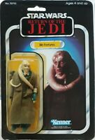 VINTAGE KENNER STAR WARS 1983 ROTJ BIB FORTUNA MOC 65-A BACK DEBUT CARD HK COO