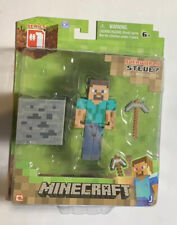 2014 Minecraft Overworld Steve Figure Series 1 New Sealed