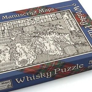 Whisky Map Jigsaw Puzzle - 500 pieces