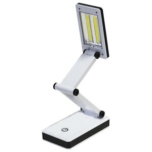 Rechargeable USB Cob Folding Table Lamp - 6W 200 Lumen LC - Amtech