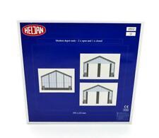 More details for heljan modern depot ends (2 x open/1 x closed) extension set o gauge building