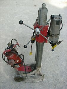 MILWAUKEE Core Drill 4099 Dymodrill Drilling Rig with Vacuum pump