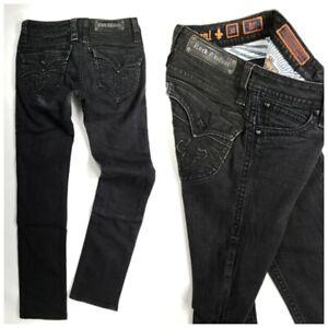 Las Mejores Ofertas En Jeans Negros Para Mujer Rock Revival Ebay