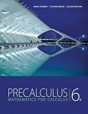"""GOOD COND"" PRECALCULUS MATHEMATICS FOR CALCULUS 6TH US EDITION (2011) STEWART"