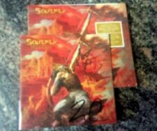 Autographed Soulfly Ritual CD signed by Max Cavalera and Zyon Cavalera