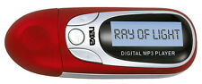 Naxa NM105RD Red MP3 Player With 4Gb Built In Flash Memory LCD Display