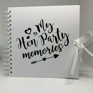 Hen Party Scrapbook | Photo Album | Hen Party Memories | Scrapbook/Journal/Book