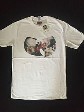 WU-TANG CLAN FLORAL RAP/ HIP-HOP T-SHIRT MEDIUM