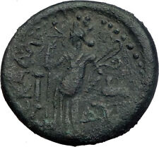 HADRIAN 120AD Ascalon in Judaea Rare Authentic Ancient Roman Coin Tyche i64138