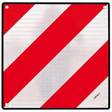 Placa Señalización V-20 Carga Sobresaliente Ojales Homologada V20 Portabicis