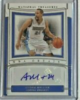 Andre Miller auto 2019-20 Panini National Treasures #66/99 - Denver Nuggets
