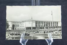 Postcard Wien Westbahnhof Austria BW RPPC 50s